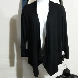 Style & Co Hooded Cardigan Size XL